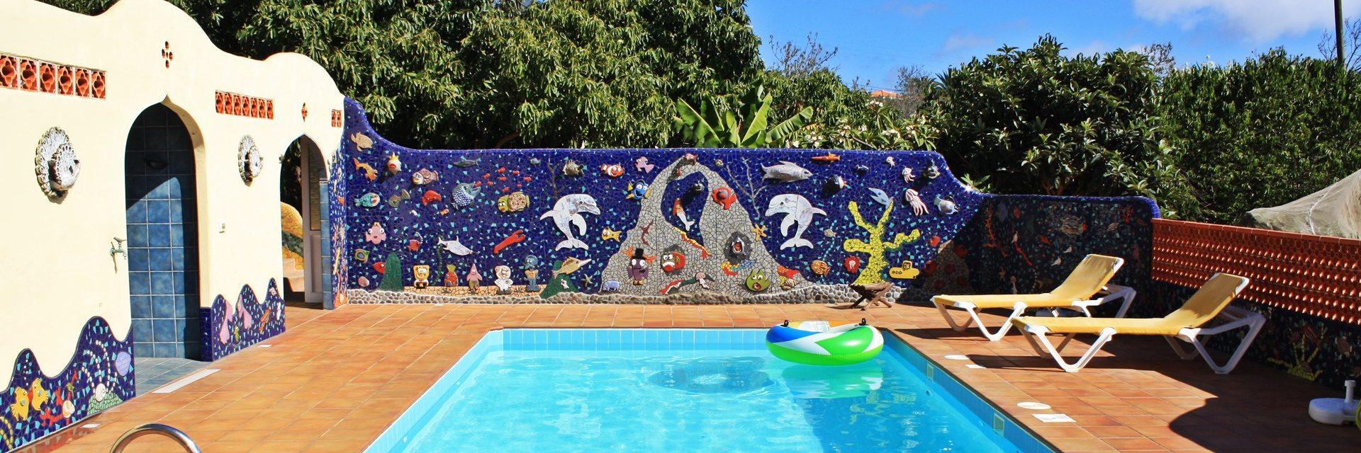 Vakantiebungalow Casa Vista, La Palma, Canarische Eilanden